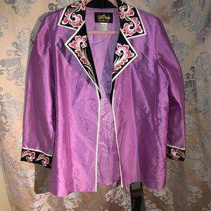 Bob Mackies Wearable Art Jacket
